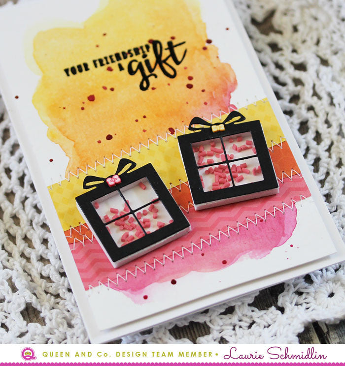 Friendships are Gifts - Pretty Presents Shaker Kit