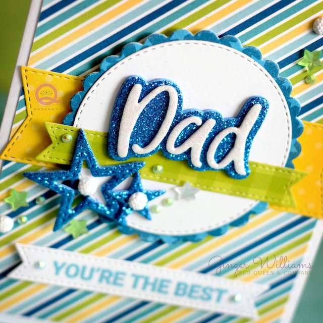 Sentiment Stackers Father's Day Card!