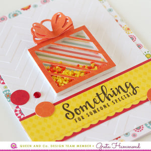 Bright Colored Cards - Pretty Presents Shaker Kit