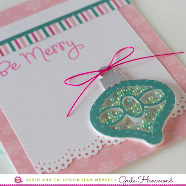 Be Merry with Pink! - Merry & Bright Shaker Kit