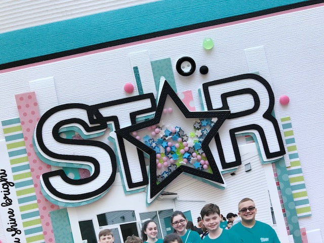 Star Power - Stars Shaped Shaker Kit
