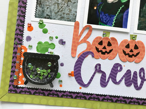 The Boo Crew - Halloween Hoopla Shaker Kit