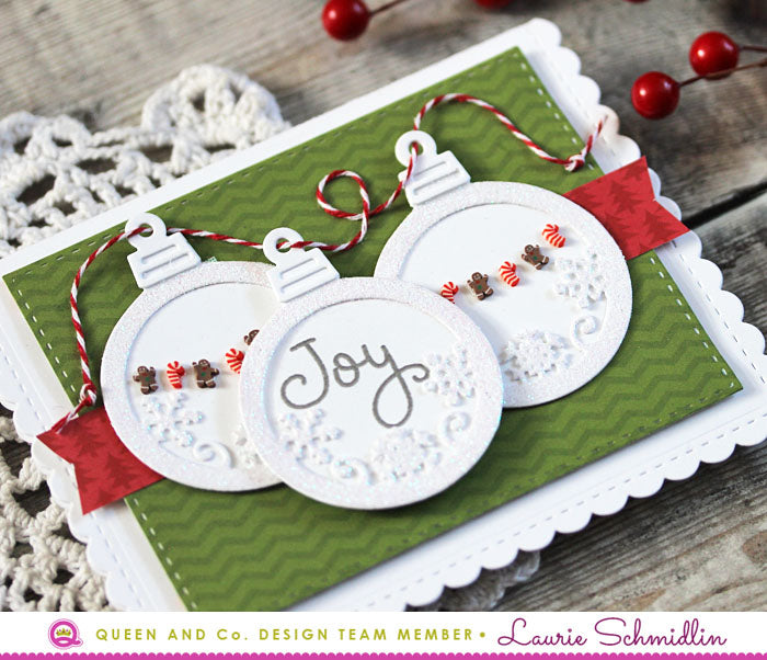 Deck the Cards - Merry & Bright Shaker Kit