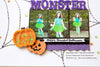 Cute Monsters and Pumpkins - Halloween Hoopla Shaker Kit