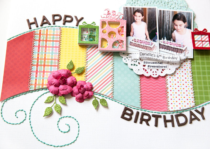 Stitching and Presents - Pretty Presents Shaker Kit
