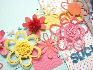 Floral Centers - Pretty Presents Shaker Kit