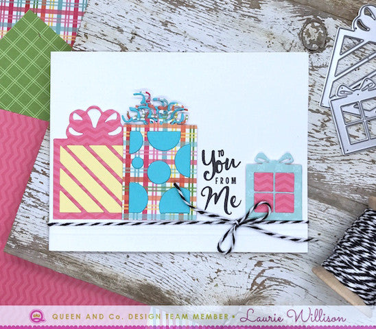 Quick Summer Cards - Pretty Presents Shaker Kit