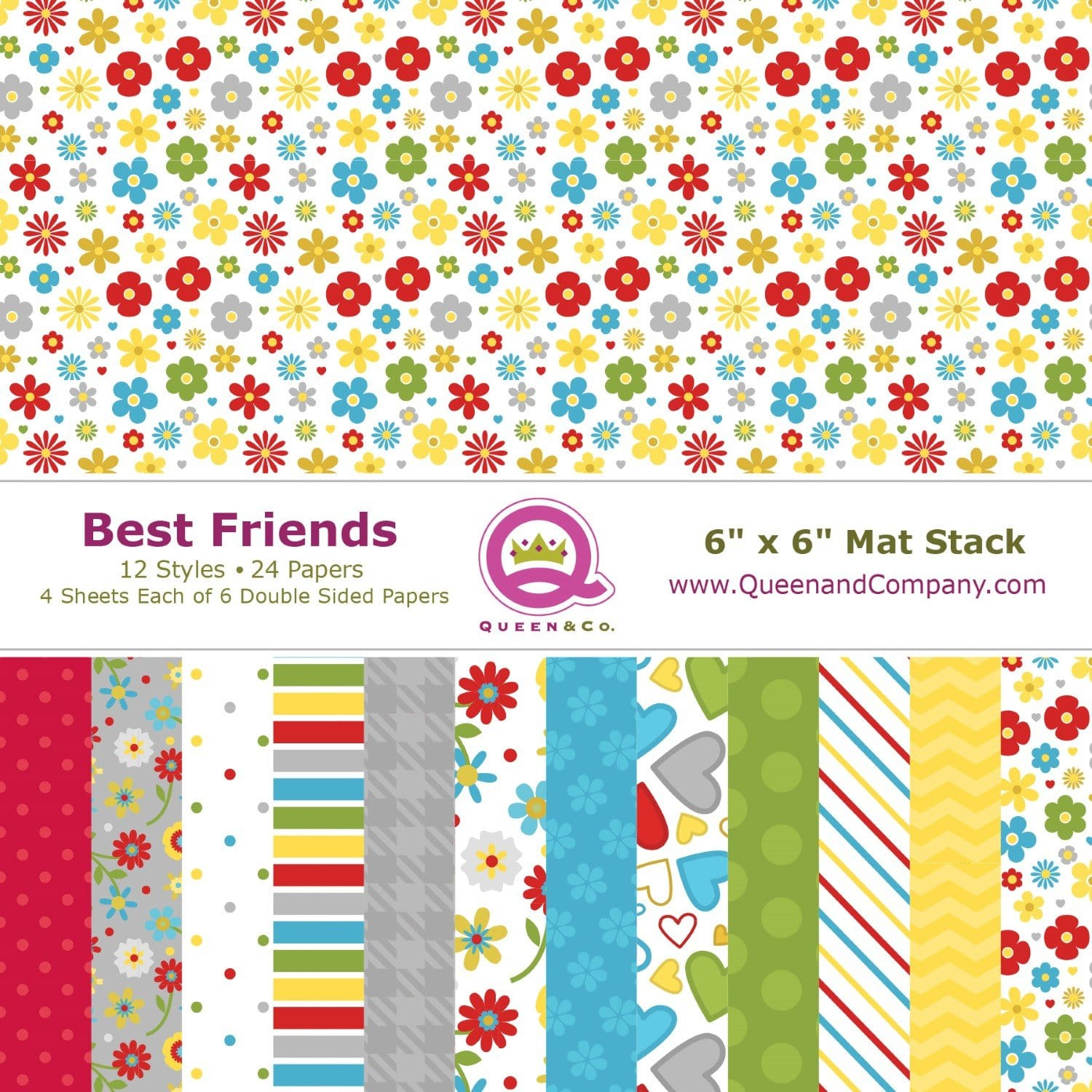 Forever Friends Paper Pad