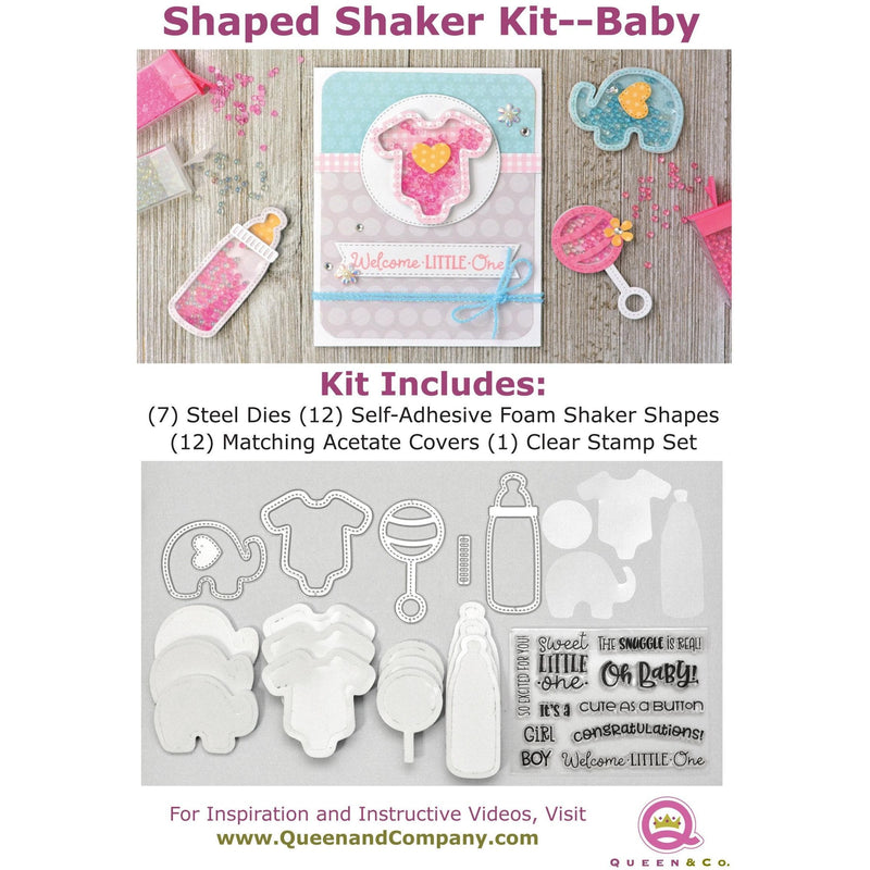 Baby Shaped Shaker Set