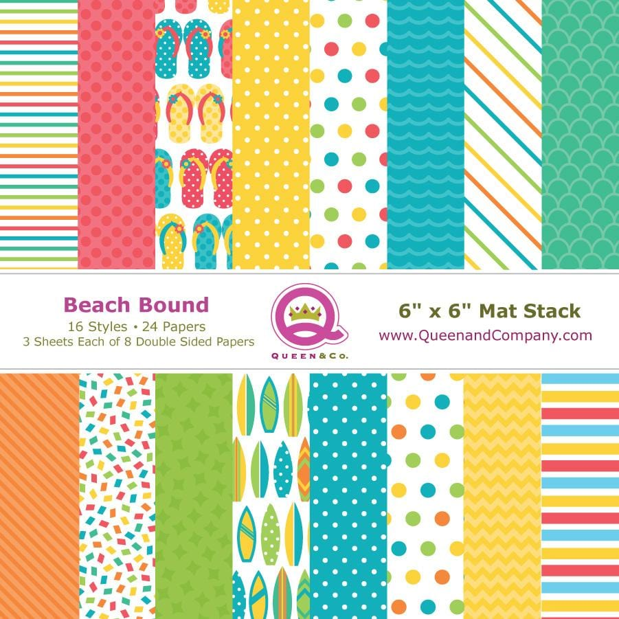 Beach Bound Paper Pad