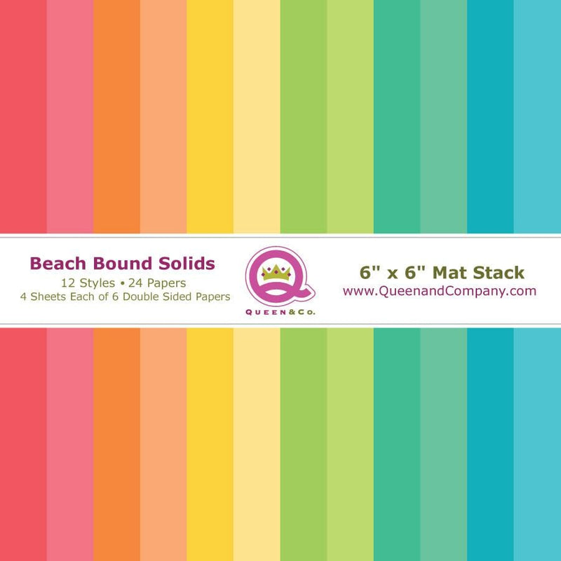 Beach Bound Solid Paper Pad