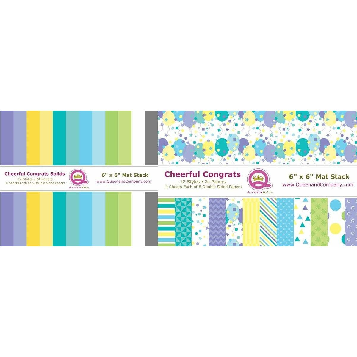 Cheerful Paper Pad Set