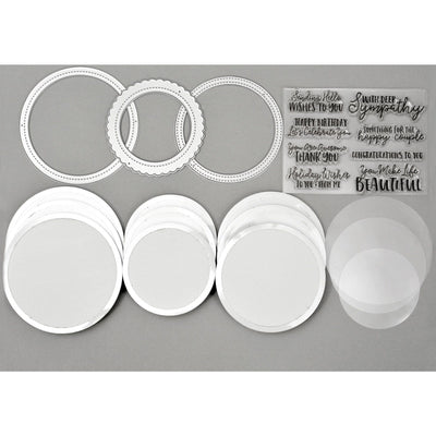 Circle Shaped Shaker Set