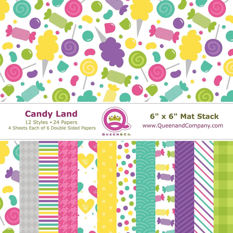 Candyland Paper Pad