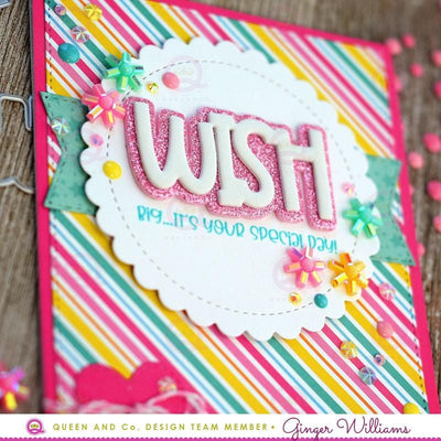 Wish Big Sentiment Stacker Kit