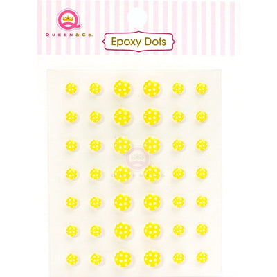Epoxy Dot Polka Yellow