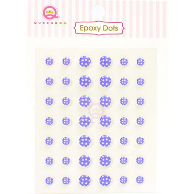Epoxy Dot Polka Purple