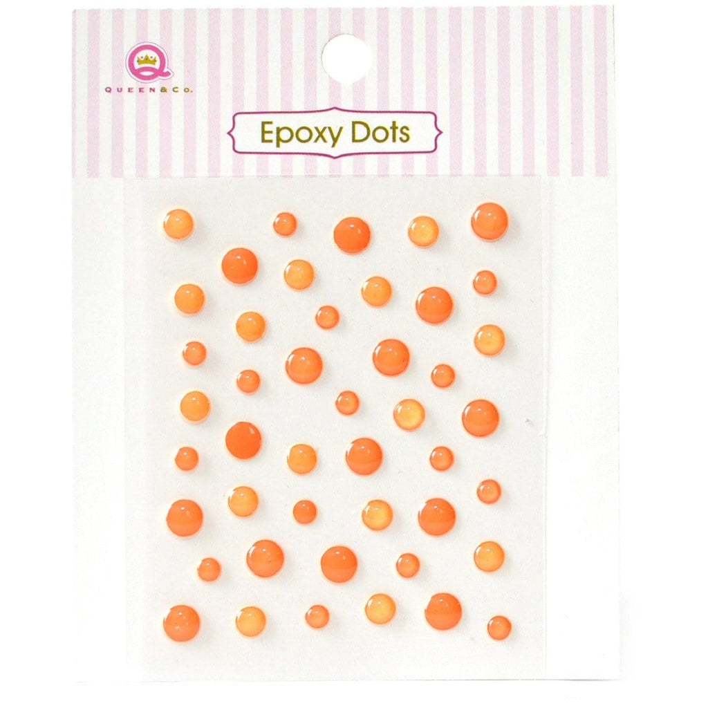 Epoxy Dots Orange