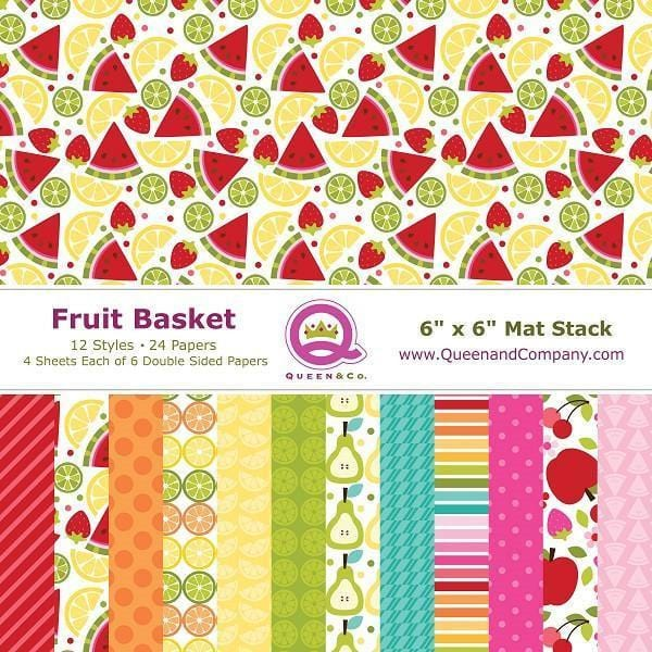 Fruit Basket Paper Pad