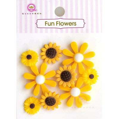 Fun Flowers Yellow