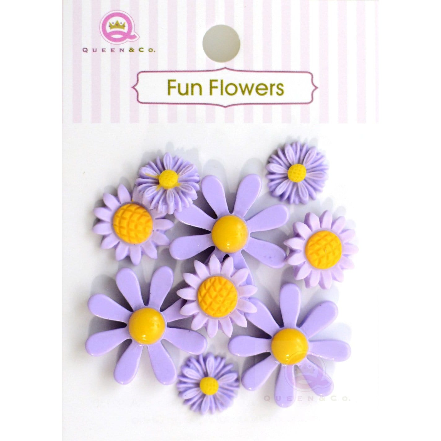 Fun Flowers Purple