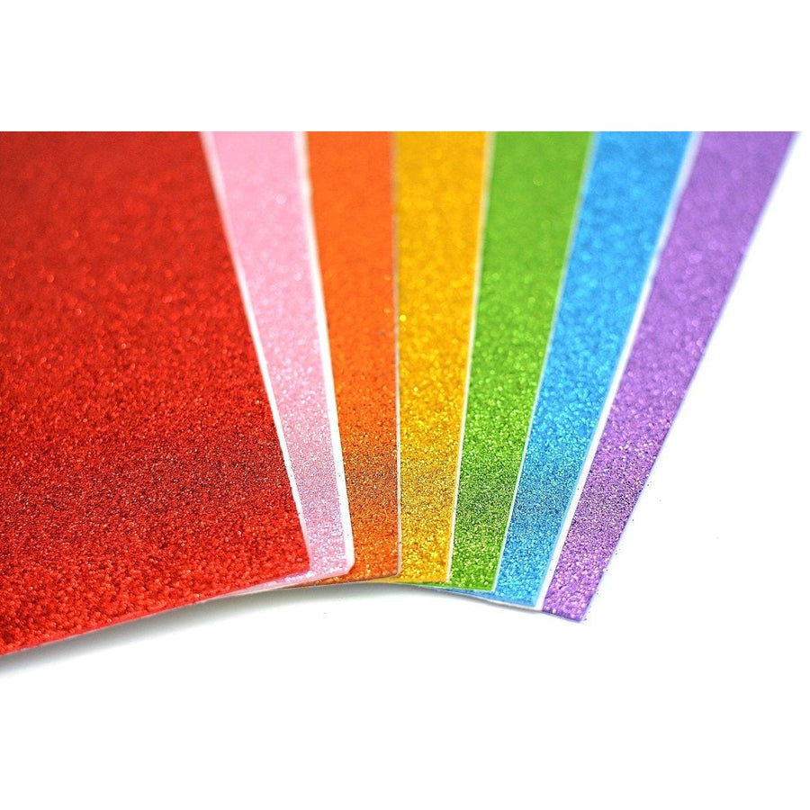 Glitter Fun Foam - Rainbow