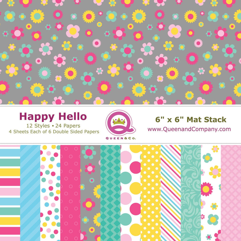 Hello Patterned Paper