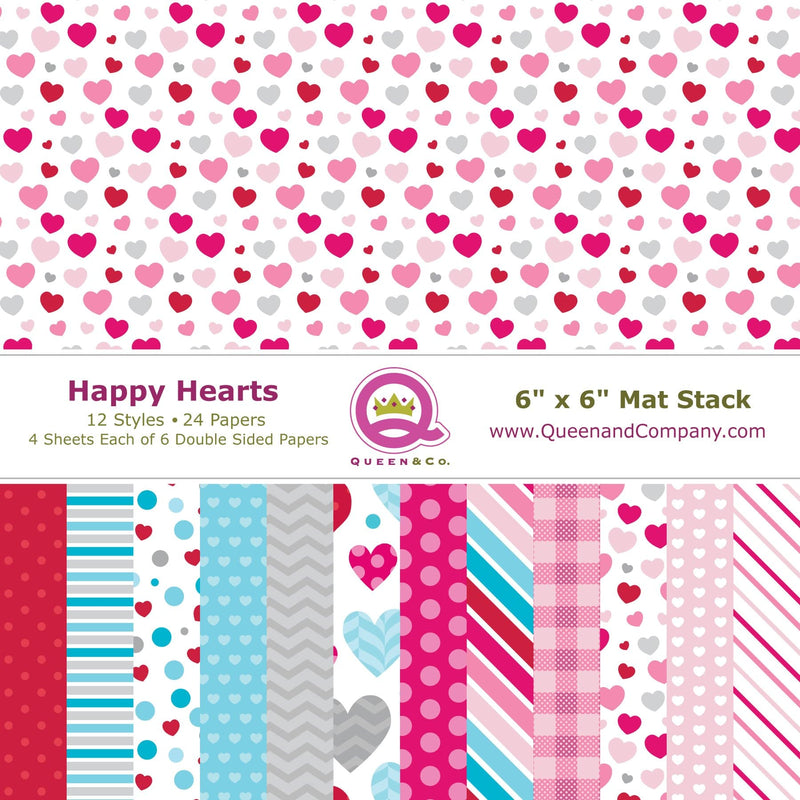Happy Hearts Paper Pad
