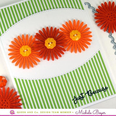 Daisy Flowers Red