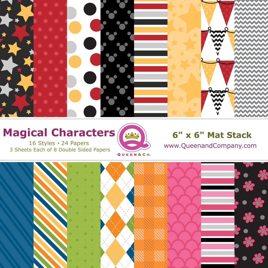 Magical Characters Paper Pad