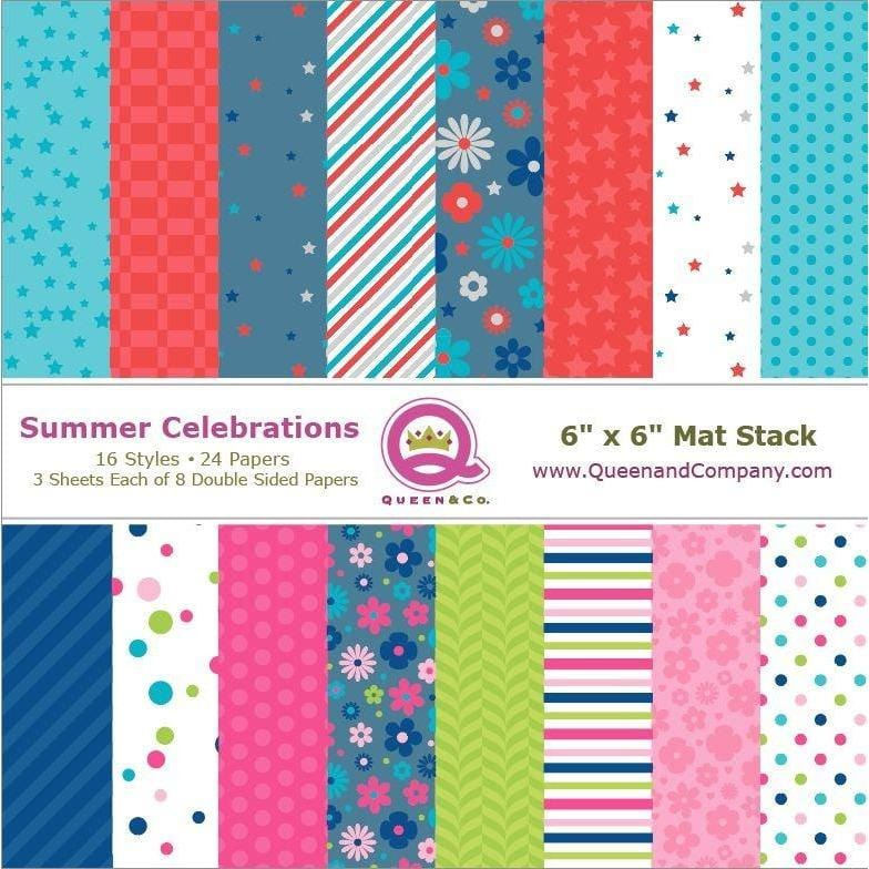 Summer Celebrations Paper Pad