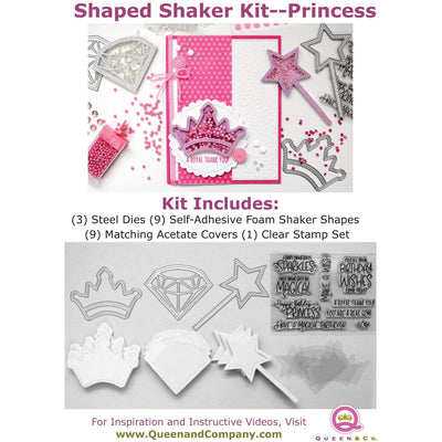Princess Shaped Shaker Kit
