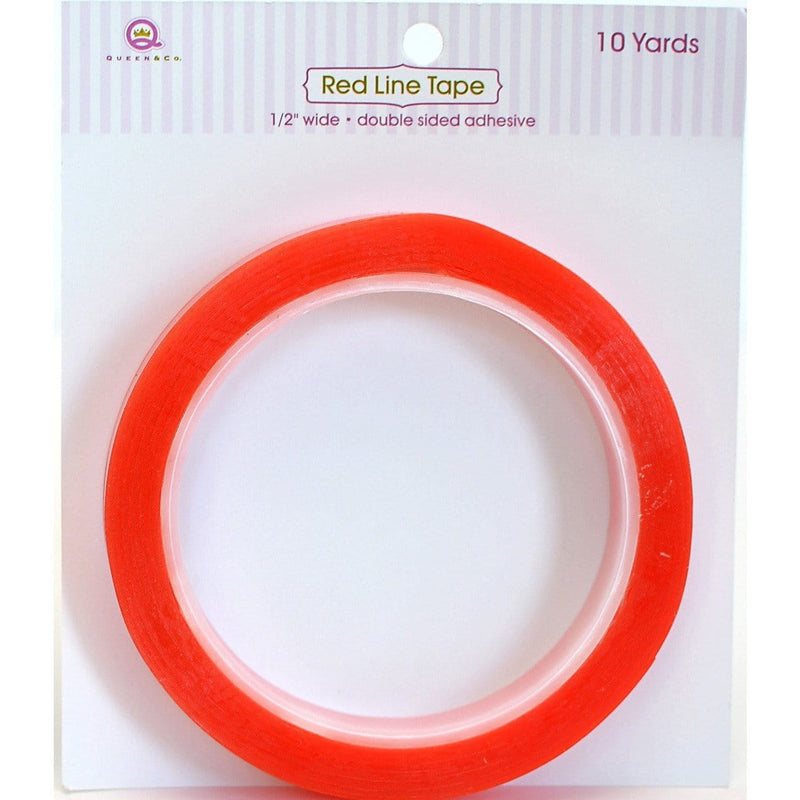 Red Line Treat Box Tape 1/8""