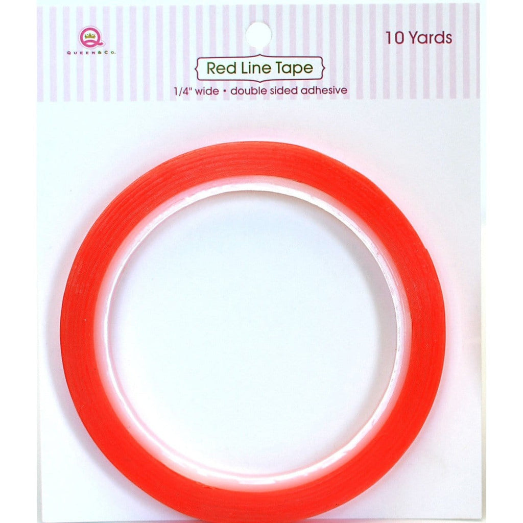 Red Line Tape 1/4""