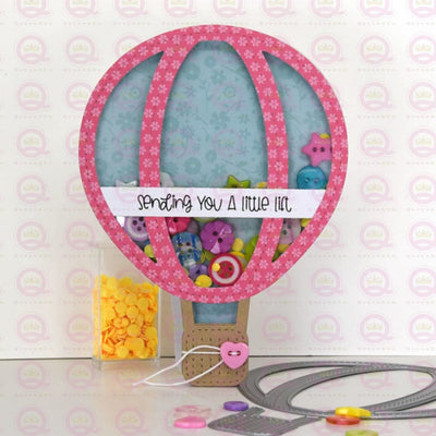 Hot Air Balloon Shaker Kit