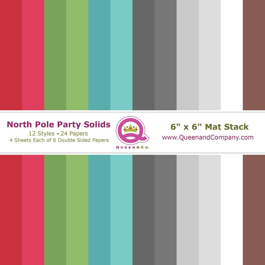 North Pole Solids Paper Pad