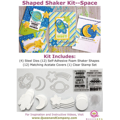 Space Shaped Shaker Kit