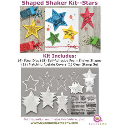 Star Shaped Shaker Set