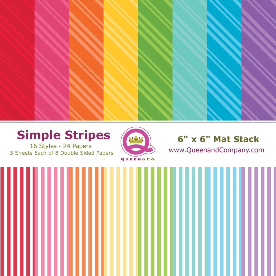 Stripes Paper Pad