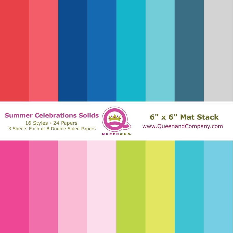 Summer Celebrations Solid Paper Pad
