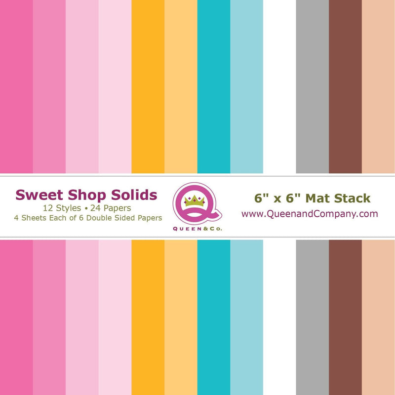 Sweet Shop Solid Paper Pad