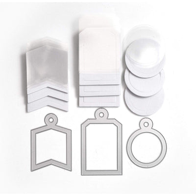 Shaped Shaker Tags