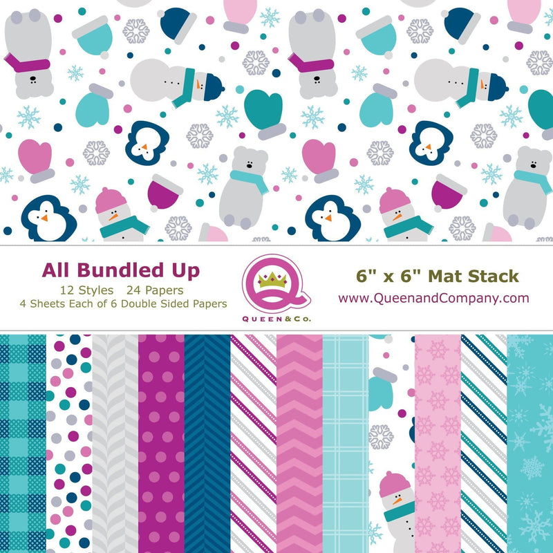 All Bundled Up Paper Pad