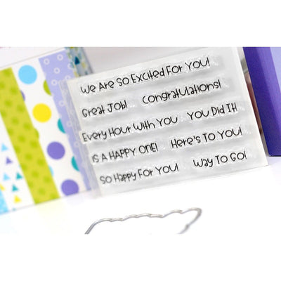 Congrats Sentiment Stacker Kit