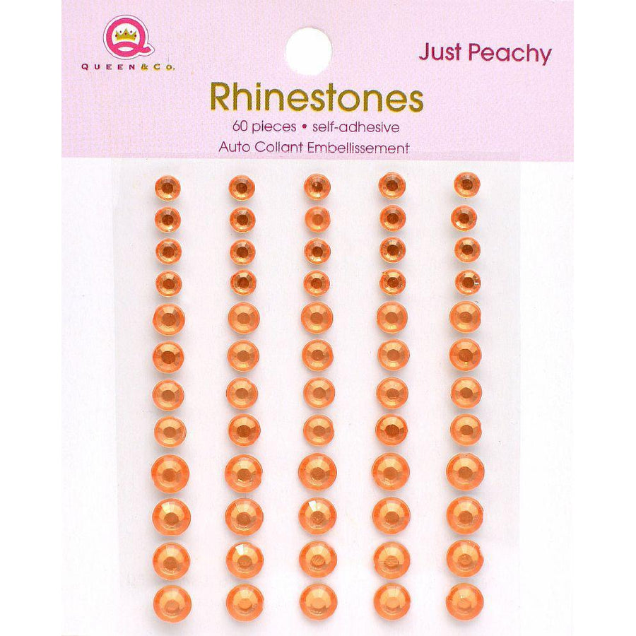 Rhinestones Just Peachy