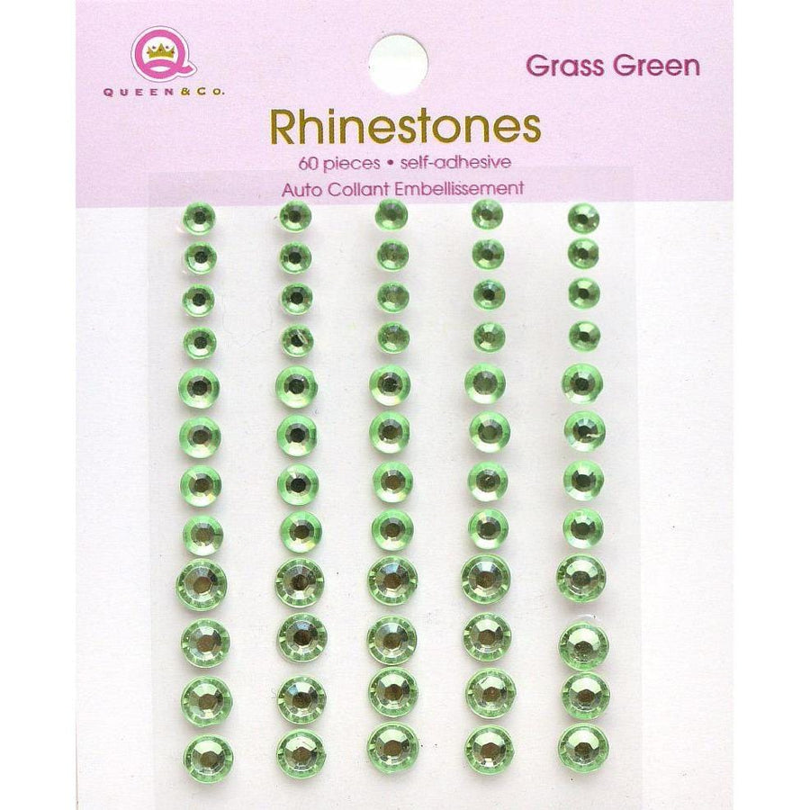 Rhinestones Grass Green