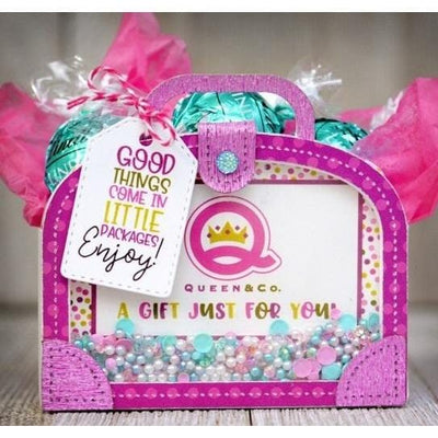 Gift Card Suitcase Shaker Box
