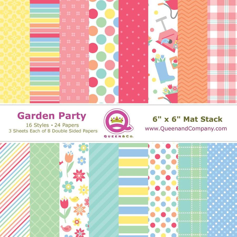 Garden Party Paper Pad
