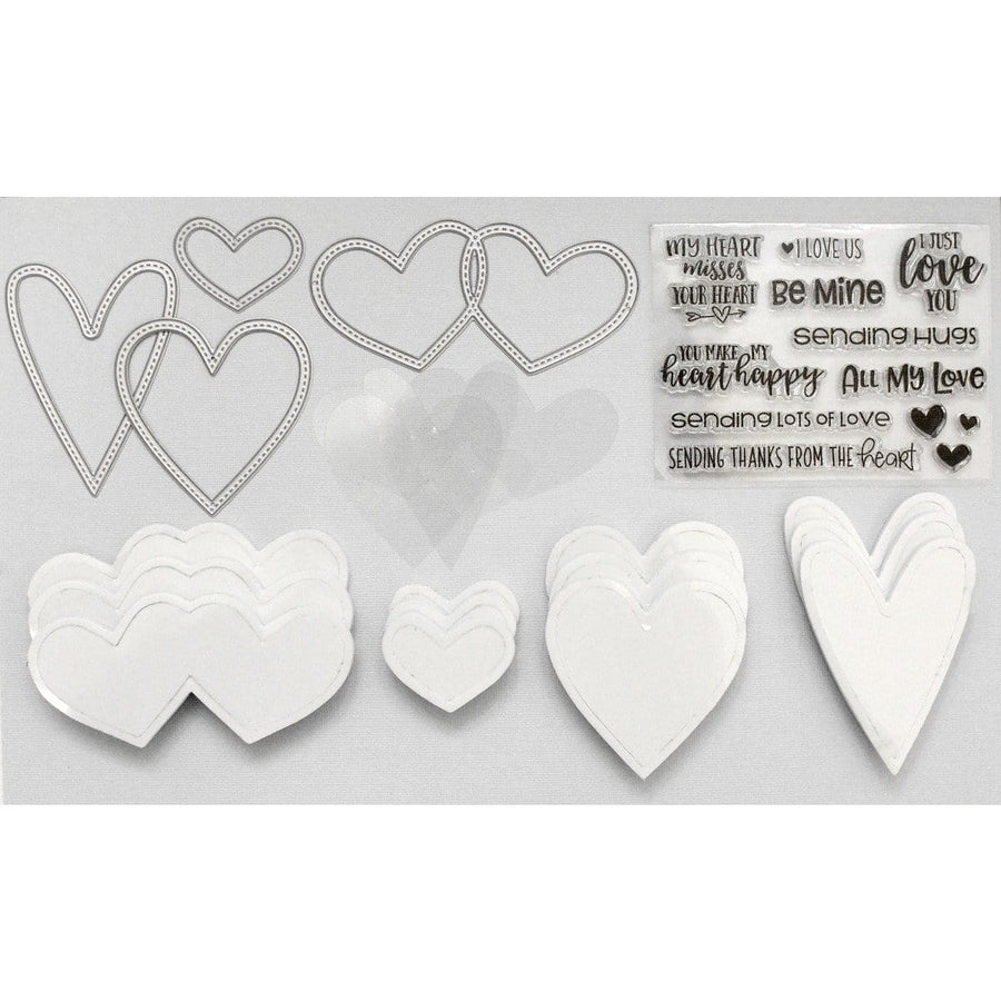 Heart Shaped Shaker Kit