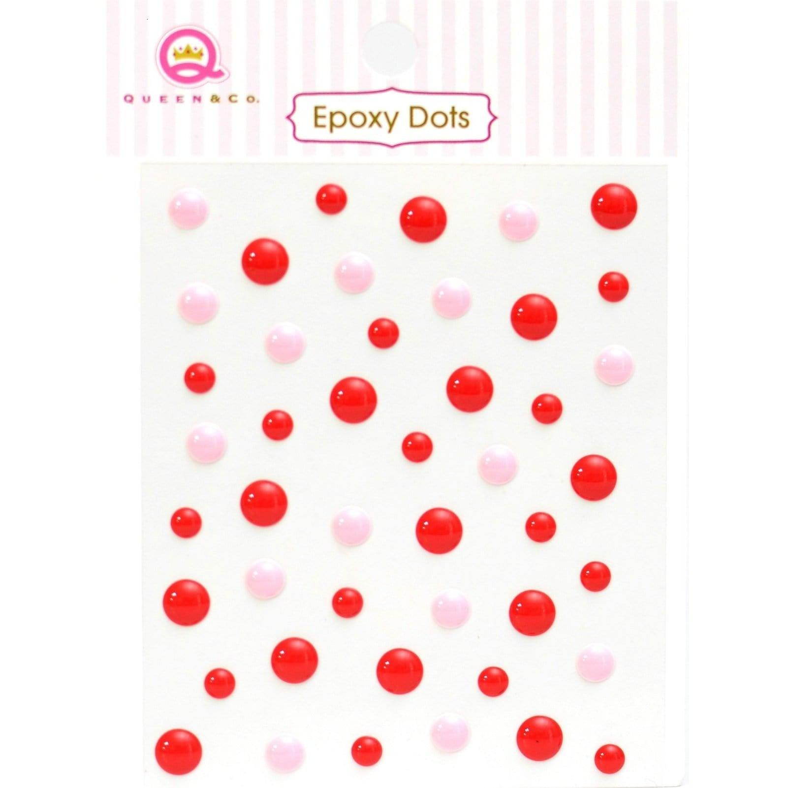 Epoxy Dots Red